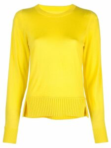 Proenza Schouler Merino Crewneck Top - Yellow
