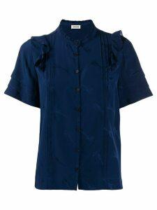 Zadig & Voltaire guitar print shirt - Blue