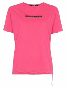Ksubi daydreams-print T-shirt - PINK