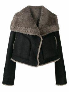 Rick Owens biker jacket - Black