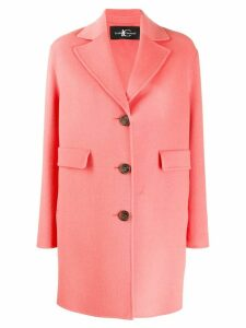Luisa Cerano single breasted coat - PINK