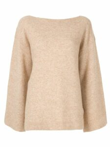 3.1 Phillip Lim boat neck jumper - Brown