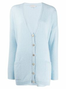 Emilio Pucci oversized knitted cardigan - Blue