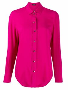 Joseph long-sleeve fitted blouse - Pink