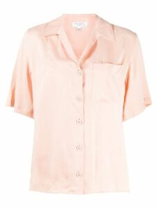 Equipment short-sleeve shift blouse - PINK