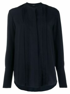 Joseph long-sleeve pleated blouse - Blue
