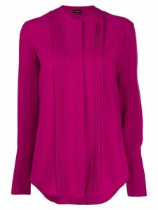 Joseph long-sleeve pleated blouse - PINK