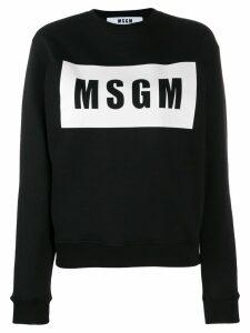 MSGM printed T-shirt - Black