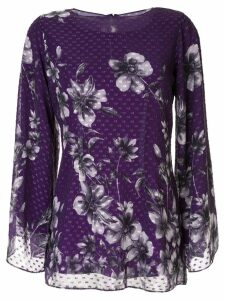 Bambah floral Bridget tunic - PURPLE