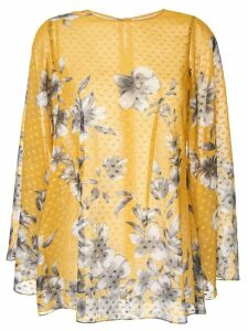 Bambah floral Bridget tunic top - Yellow