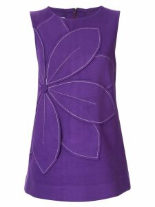 Bambah Serena flower tunic - PURPLE