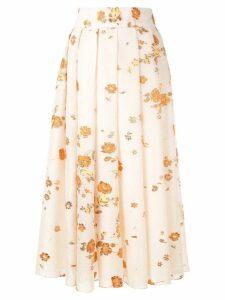 Bambah Fil coupe skirt - NEUTRALS