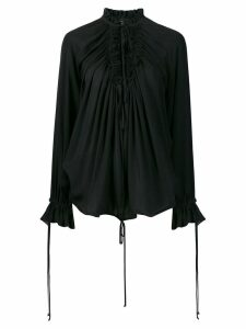 Dsquared2 ruffle blouse - Black