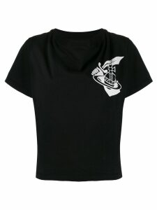 Vivienne Westwood Anglomania logo T-shirt - Black