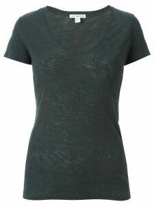 James Perse v-neck T-shirt - Grey
