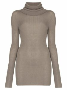 Rick Owens ribbed cashmere jumper - Grey