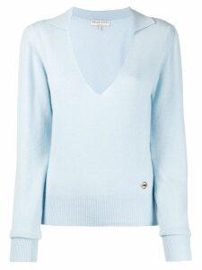 Emilio Pucci cashmere v-neck sweater - Blue