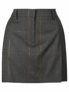 Fabiana Filippi high rise mini skirt - Grey