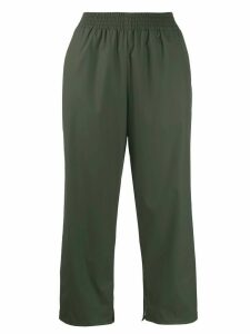 Mm6 Maison Margiela cropped track pants - Green