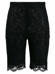 Pinko lace cycling shorts - Black