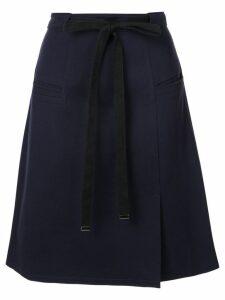 Tibi Bond stretch knit skirt - Blue