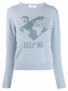Alberta Ferretti Help Me jumper - Blue