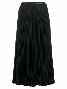 Prada pleated midi skirt - Black
