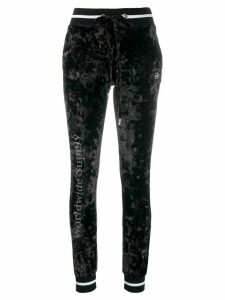 Philipp Plein logo leggings - Black
