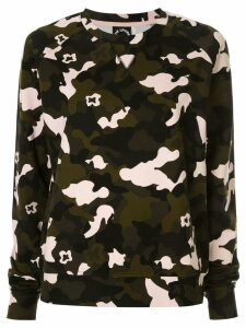 The Upside camouflage print sweatshirt - Multicolour