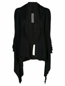Rick Owens fine knit cardigan - Black