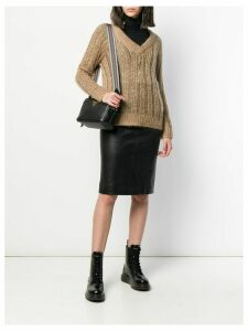 Prada chunky knit jumper - Neutrals