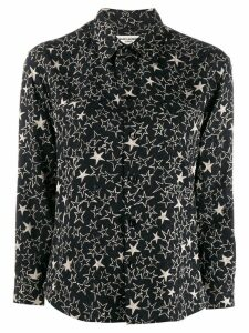 Saint Laurent star print shirt - Black