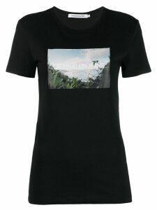Calvin Klein Jeans printed logo T-shirt - Black