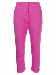 Nº21 cropped trousers - Pink