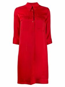 Zadig & Voltaire Roa chemise dress - Red