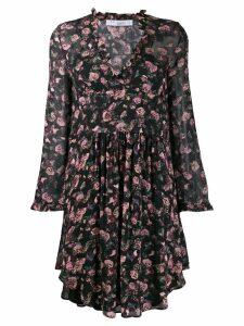 IRO Freida floral dress - Black