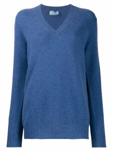Prada V-neck jumper - Blue