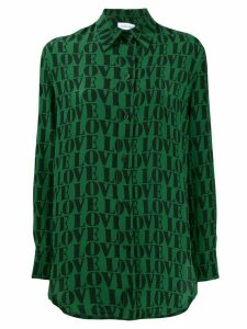 Calvin Klein Love printed shirt - Green