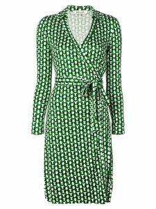 Diane von Furstenberg Jeanne wrap dress - Green