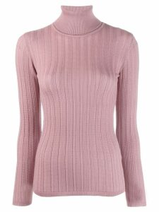 M Missoni slim-fit turtleneck jumper - Pink