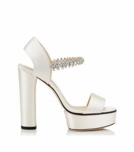 Santina 130 Satin Sandals