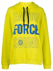 McQ Alexander McQueen graphic hoody - Yellow