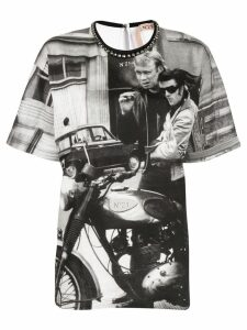 Nº21 photo print T-shirt - White