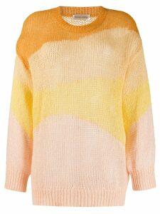 Stine Goya knitted sweatshirt - Yellow