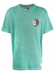 Tommy Jeans Summer Globe printed T-shirt - Green