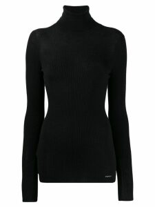 Prada ribbed turtle neck sweater - Black