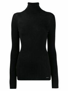 Prada ribbed turtle neck sweater - Black