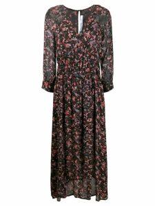 IRO Sirthy neck paisley dress - Black