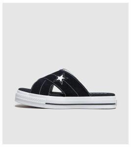 Converse One Star Sandal Women's, Black