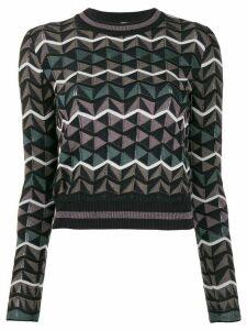 M Missoni zigzag pullover - Blue
